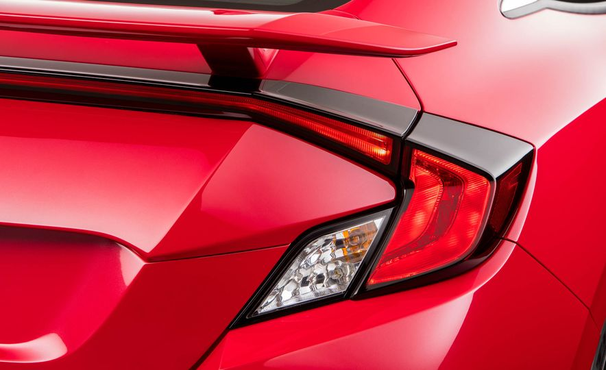 2017 Honda Civic Si coupe prototype - Slide 35