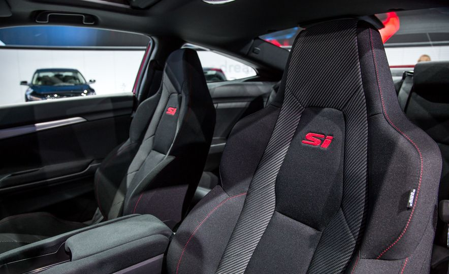 2017 Honda Civic Si coupe prototype - Slide 16