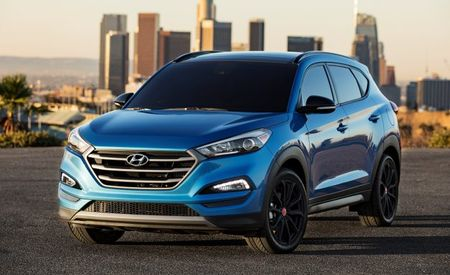 Hyundai Lights Up 2017 Tucson Sport with a Night Edition