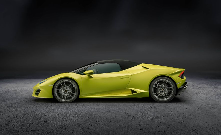 2017 Lamborghini Huracan LP580-2 Spyder - Slide 1