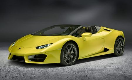 2017 Lamborghini Huracan Spyder Now In Rear-Drive Form