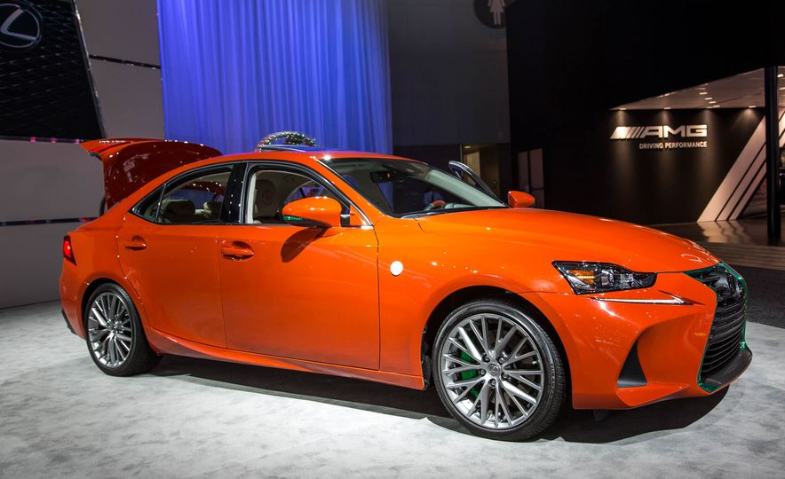 2017 Lexus Sriracha IS - Slide 1