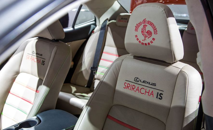 2017 Lexus Sriracha IS - Slide 10
