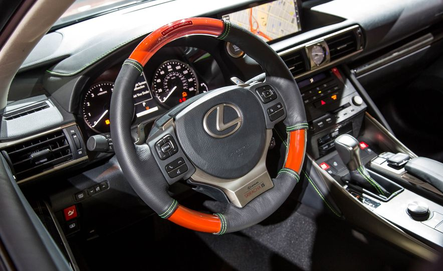 2017 Lexus Sriracha IS - Slide 11