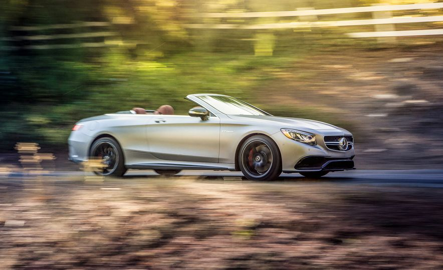 2017 Bentley Continental GT V8 S convertible and 2017 Mercedes-A - Slide 17