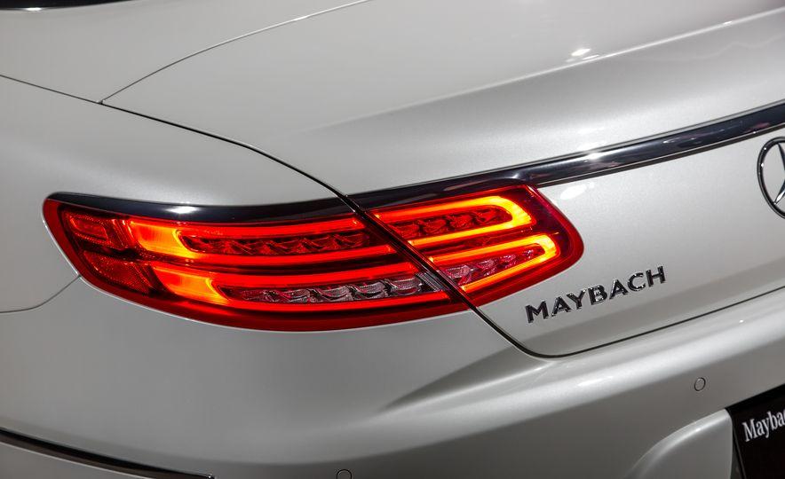 2017 Mercedes-Maybach S650 cabriolet - Slide 12