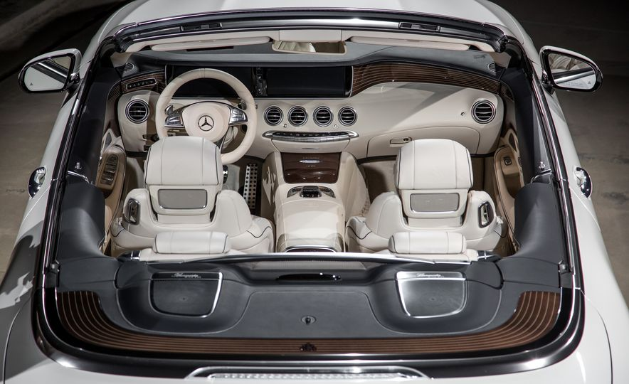 2017 Mercedes-Maybach S650 cabriolet - Slide 14