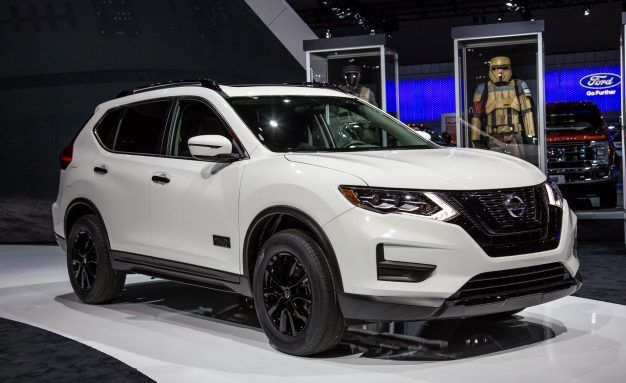 Nissan Rogue Star Wars Special Edition Comes with Collectible Death Trooper Helmet!