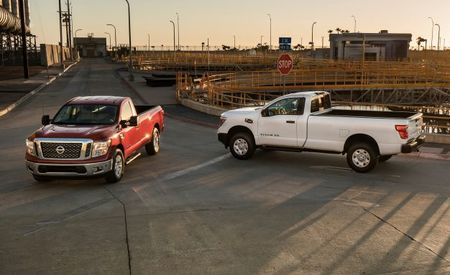 2017 Nissan Titan and Titan XD Now Offered as Single-Cab Work Trucks