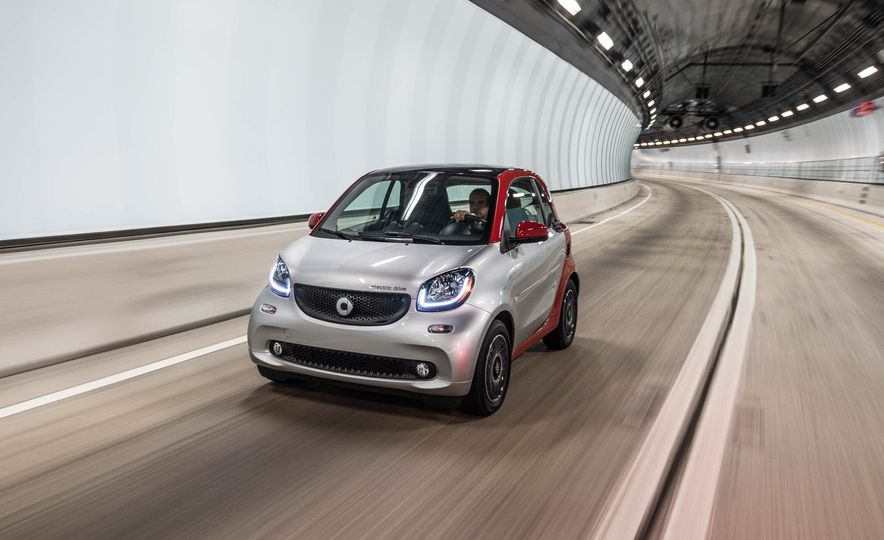 2017 Smart Fortwo Electric Drive - Slide 1