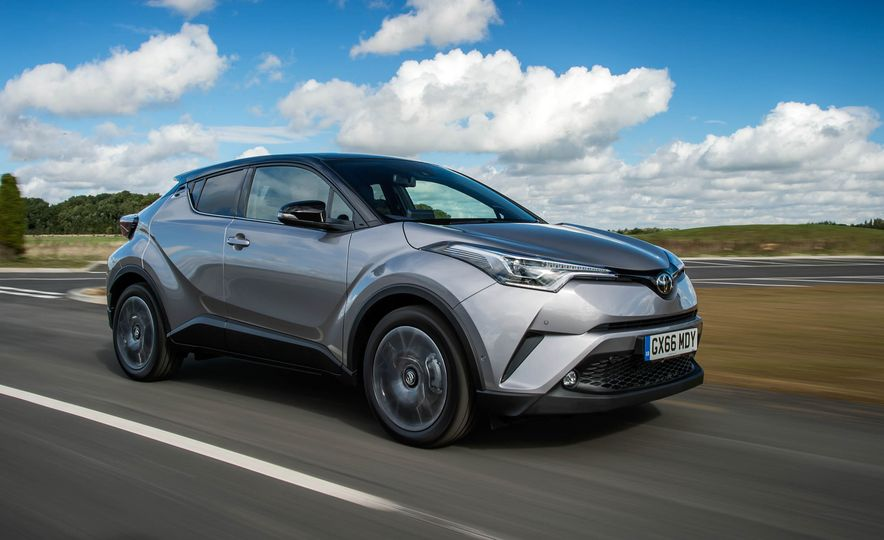 2017 Toyota C-HR (Euro-spec) - Slide 10