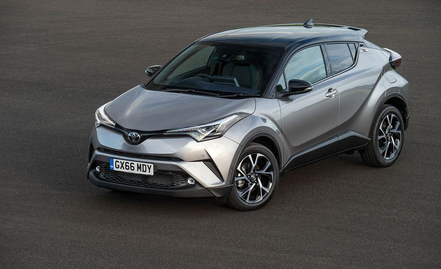 2017 Toyota C-HR (Euro-spec) - Slide 28