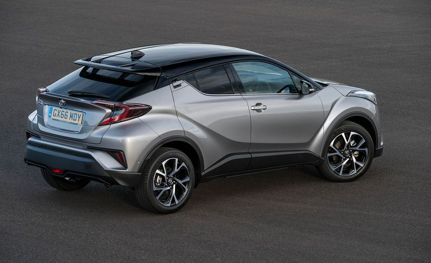 2017 Toyota C-HR (Euro-spec) - Slide 29
