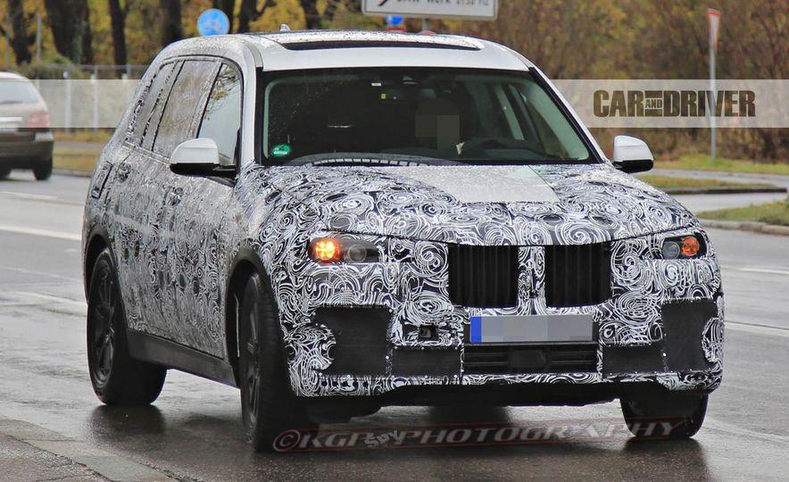 2018 BMW X7 (spy photo) - Slide 2