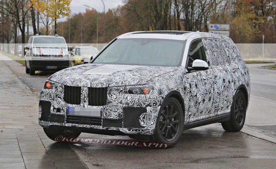 2018 BMW X7 (spy photo) - Slide 5