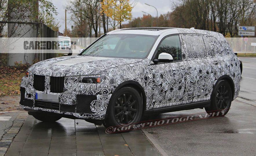 2018 BMW X7 (spy photo) - Slide 6