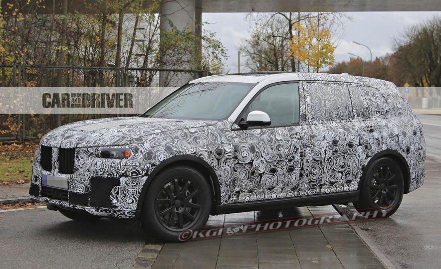 2018 BMW X7 (spy photo) - Slide 7