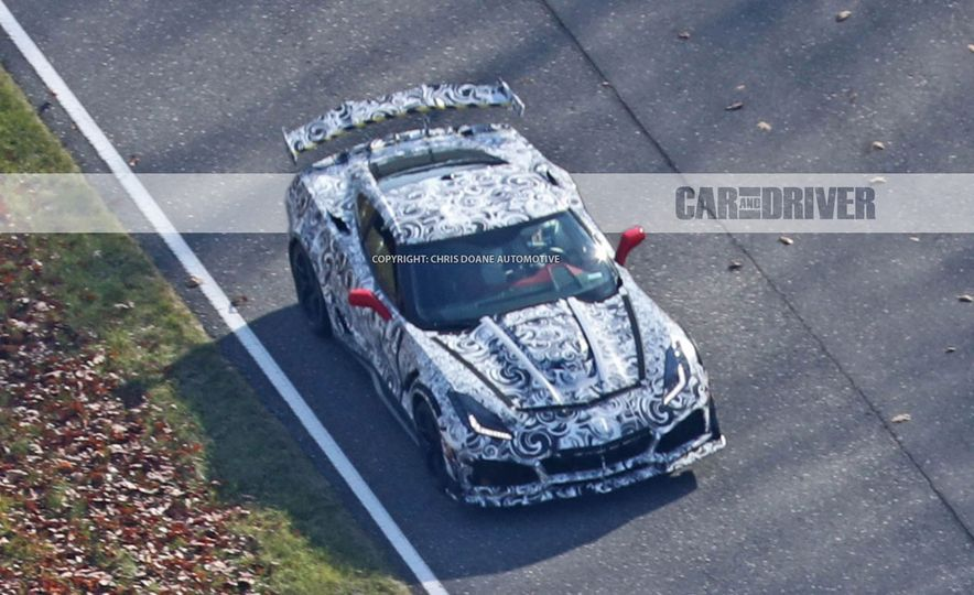 2018 Chevrolet Corvette ZR1 (spy photo) - Slide 32