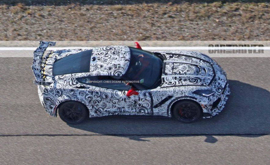 2018 Chevrolet Corvette ZR1 (spy photo) - Slide 42