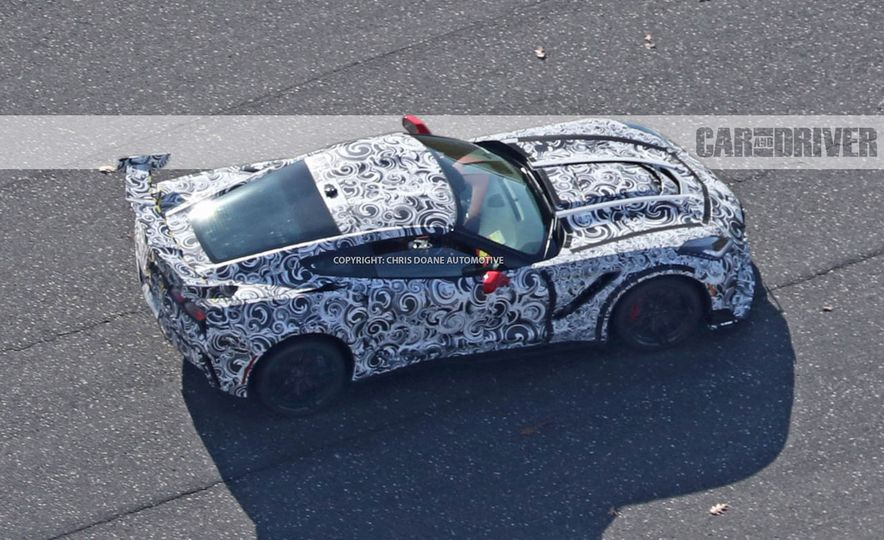2018 Chevrolet Corvette ZR1 (spy photo) - Slide 43