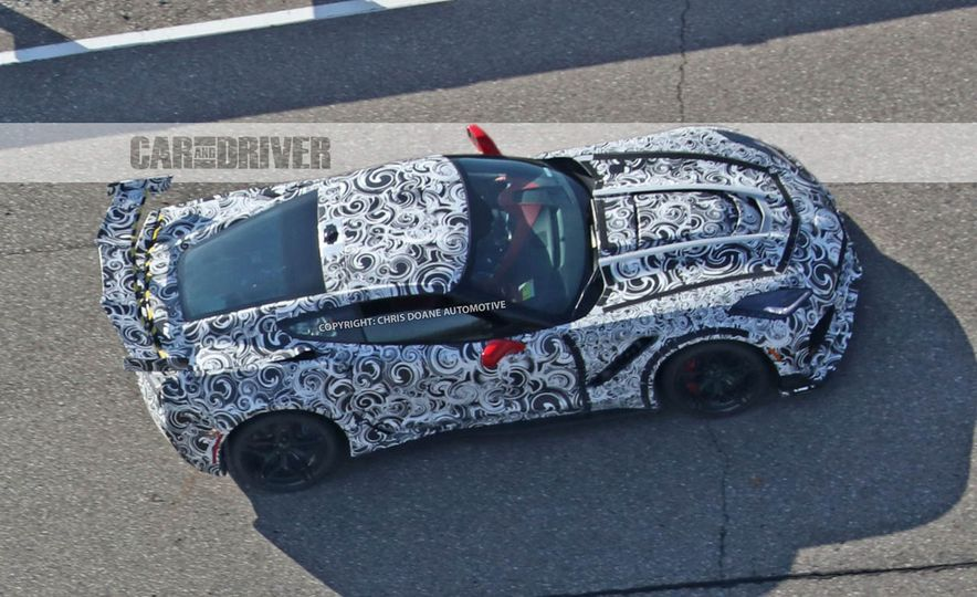 2018 Chevrolet Corvette ZR1 (spy photo) - Slide 44