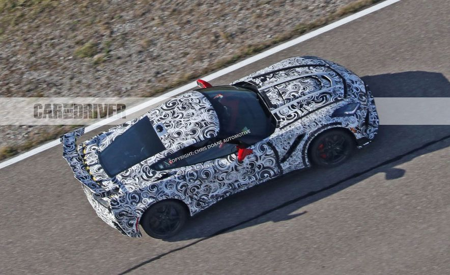 2018 Chevrolet Corvette ZR1 (spy photo) - Slide 45
