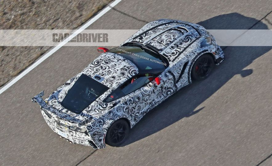 2018 Chevrolet Corvette ZR1 (spy photo) - Slide 46