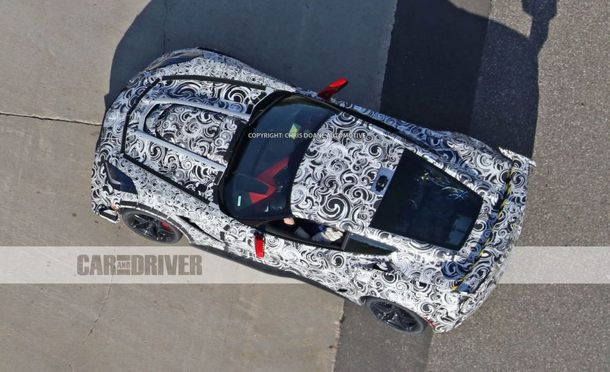 2018 Chevrolet Corvette ZR1 (spy photo) - Slide 48