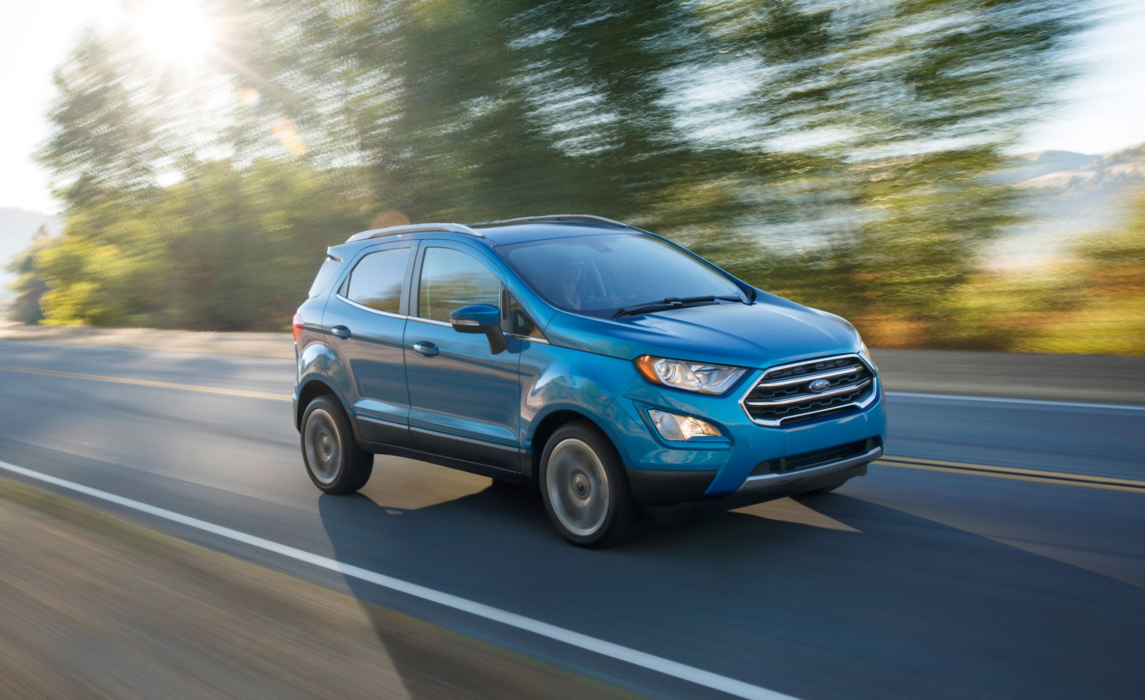 2018 ford ecosport finally gets in the wee suv game