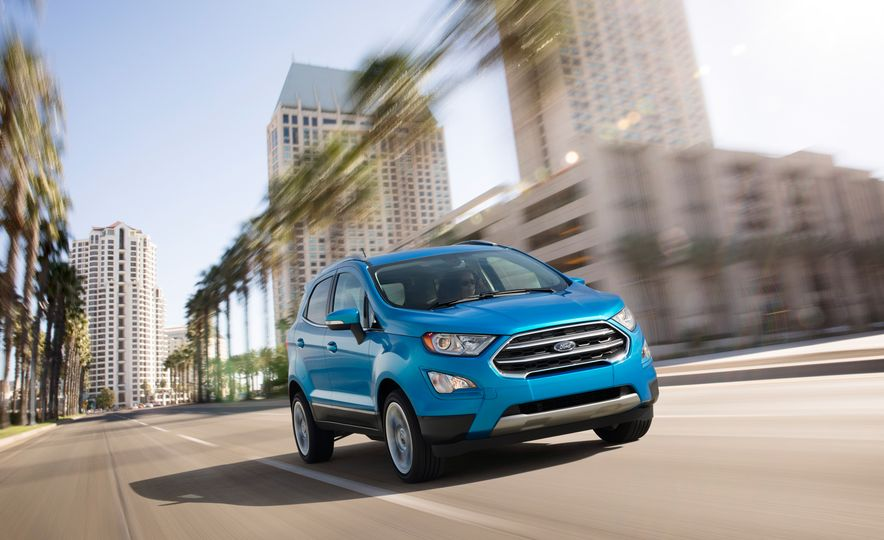 2018 Ford EcoSport Pictures  Photo Gallery  Car and Driver