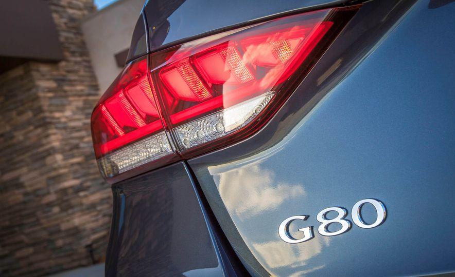 2018 Genesis G80 Sport - Slide 67