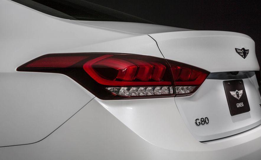 2018 Genesis G80 Sport - Slide 20