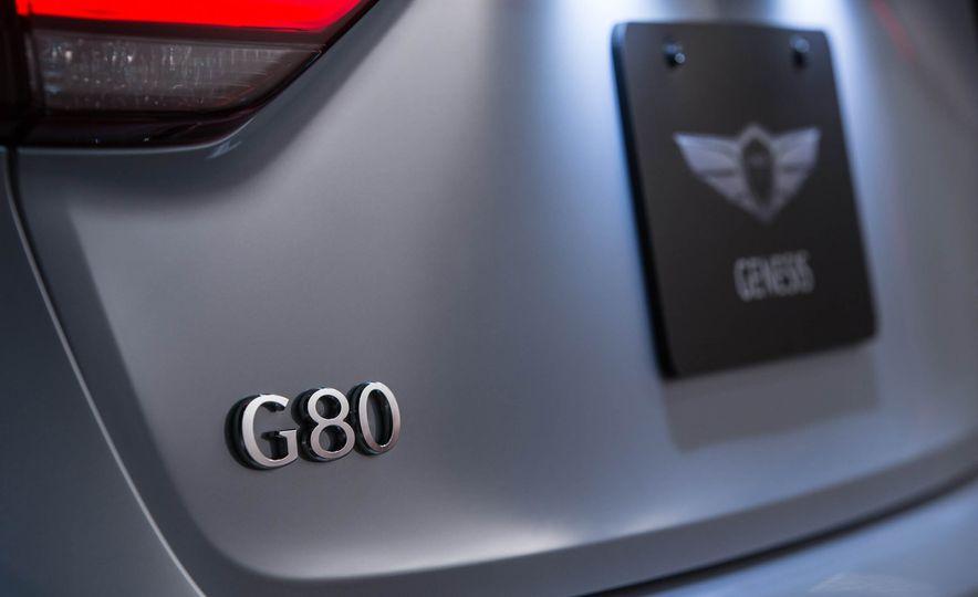 2018 Genesis G80 Sport - Slide 21