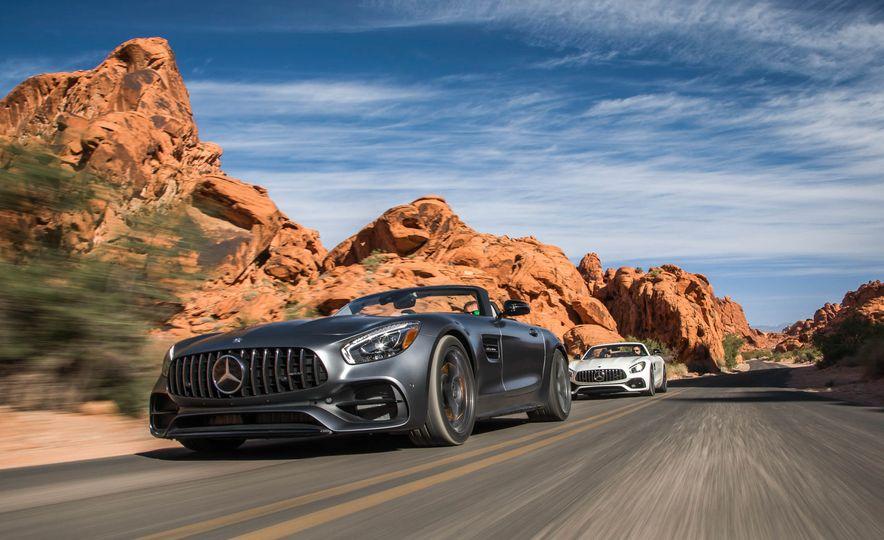 2018 Mercedes-AMG GT / GT C Roadster - Slide 4