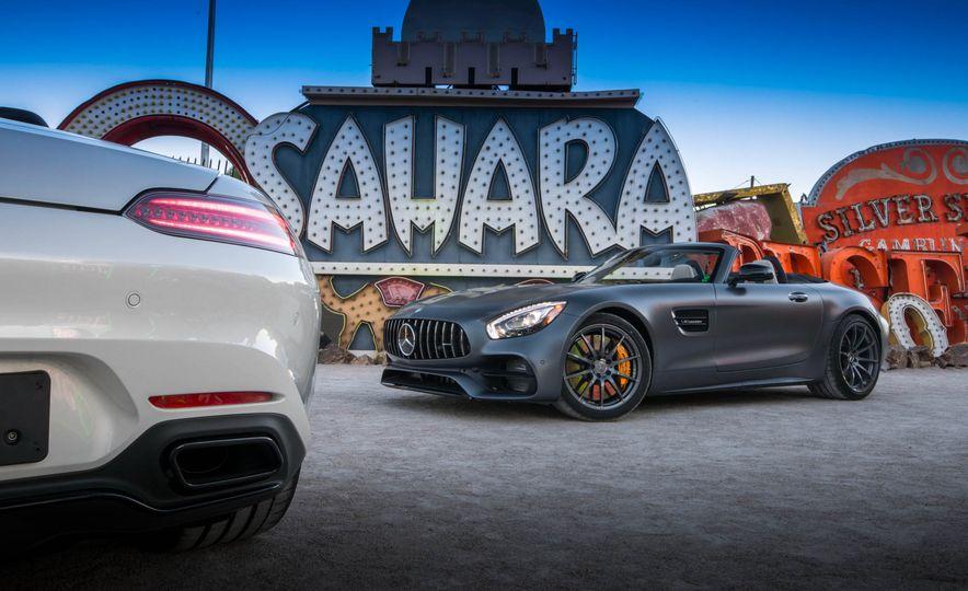 2018 Mercedes-AMG GT / GT C Roadster - Slide 22