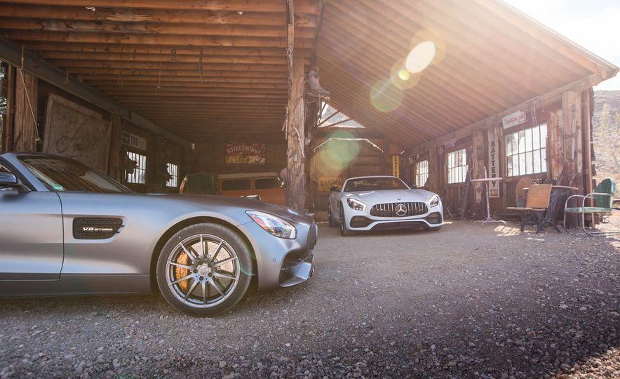 2018 Mercedes-AMG GT / GT C Roadster - Slide 24