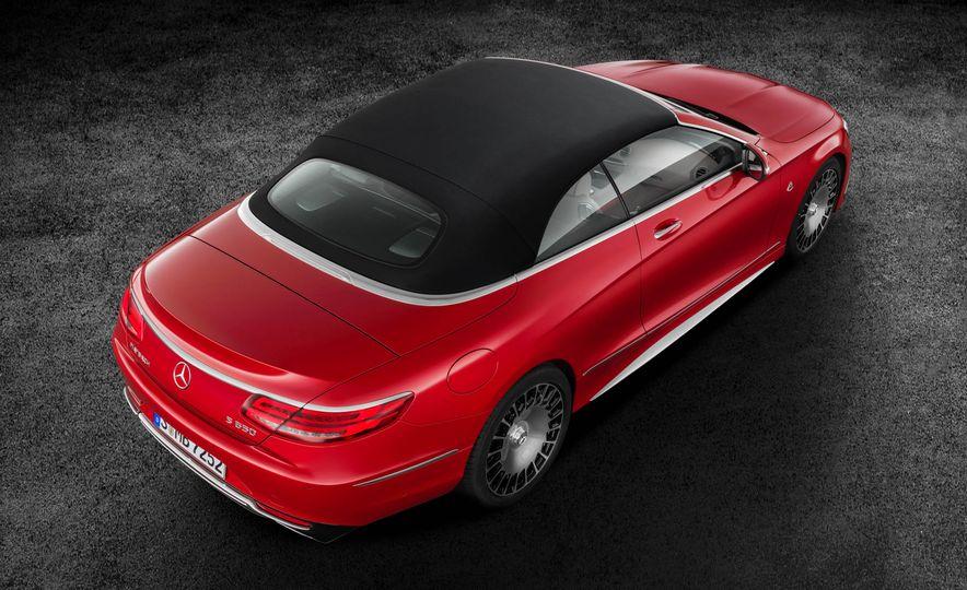 2017 Mercedes-Maybach S650 cabriolet - Slide 23