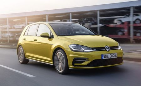 Europe Gets a Facelifted Golf—And It's Coming Here for 2018