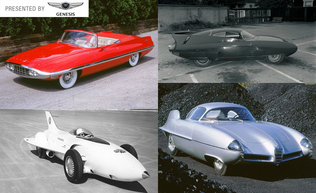 1950 concept cars