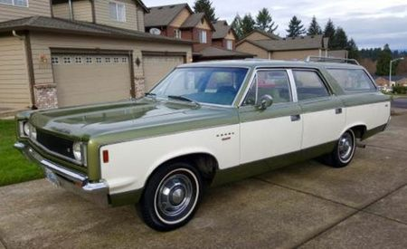SST Record! The Ephemeral Super-Clean 1969 Rambler Rebel Wagon
