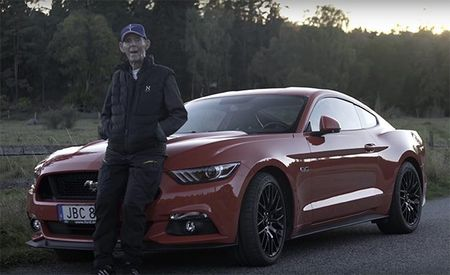 Meet The 97-Year-Old Swede Who Drives a New Ford Mustang GT