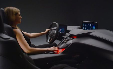 Acura's Precision Cockpit Concept Previews Future Control and Infotainment Interface