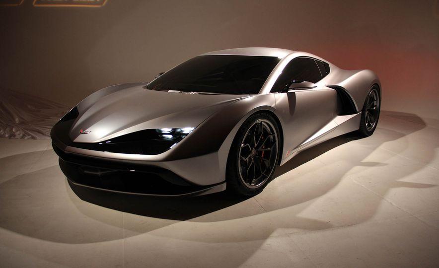 Aria Group Mid-Engine Corvette concept - Slide 1
