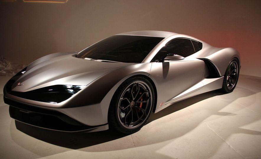Aria Group Mid-Engine Corvette concept - Slide 2
