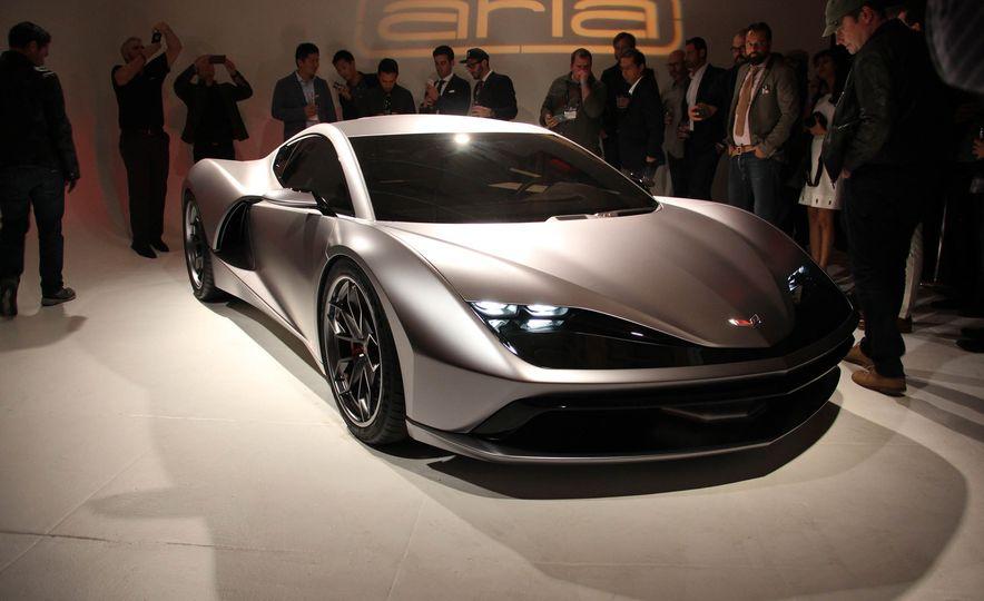 Aria Group Mid-Engine Corvette concept - Slide 3