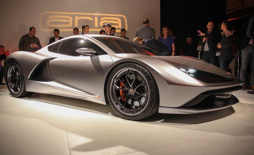 Aria Group Mid-Engine Corvette concept - Slide 4