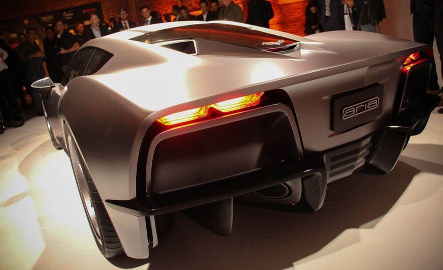 Aria Group Mid-Engine Corvette concept - Slide 7