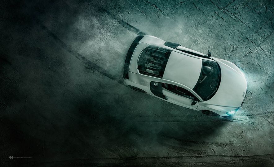 Audi R8 scale model - Slide 1