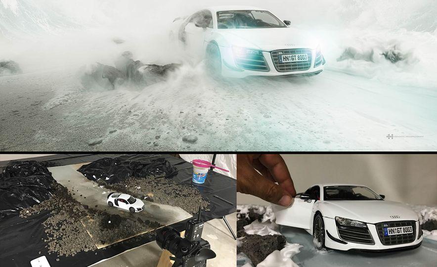 Audi R8 scale model - Slide 6