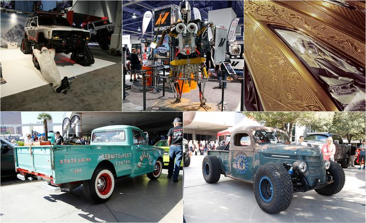 The Best of SEMA 2016, Day Two: A Five-Wheeled Motorcycle, an Electric Datsun, and More